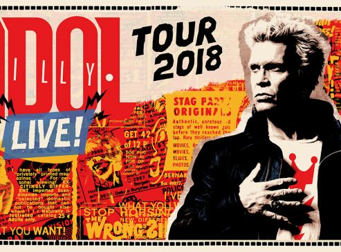 Billy Idol UK Tour 2018